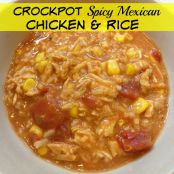 Spicy Mexican Chicken & Rice