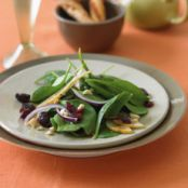 Spinach, Pear and Cranberry Salad