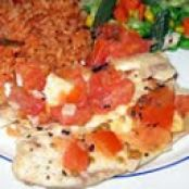 Easy tilapia with wine & tomatoes