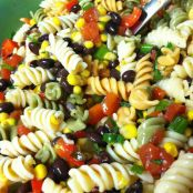 Black Bean & Corn Pasta Salad