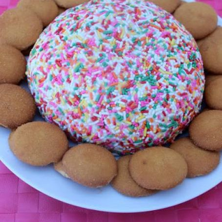 Funfetti Cake Cheese Ball