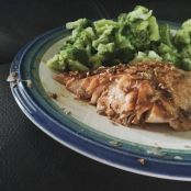Easy Man Pleasing Grilled Ginger Soy Salmon