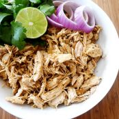 Shredded Tex-Mex Crockpot Chicken