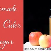 Homemade Raw Apple Cider Vinegar