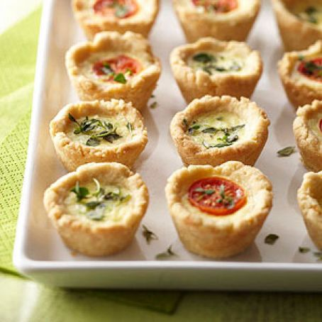 Mini Party Quiches