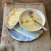 Ham and Potato Beer Cheese Soup