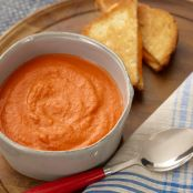 ROASTED TOMATO BISQUE {jeff mauro}