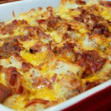 Bacon, Egg, and Cheese Breakfast Casserole