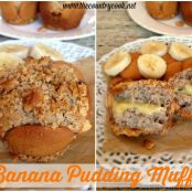 Banana Pudding Muffins