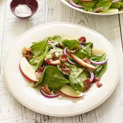 Spinach & Pink Lady Apple Salad