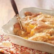Weight Watcher Easy Peach Cobbler