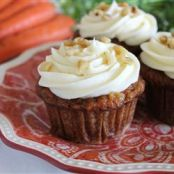 Carrot Cupcakes w/Cream Cheese Icing