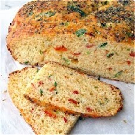 Savory Christmas Cheese Bread