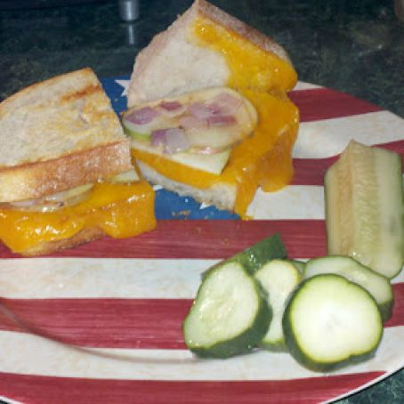 Country grilled cheese