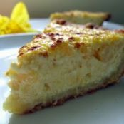 Ricotta Pineapple Pie