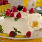 Lemon Chiffon Angel Cake