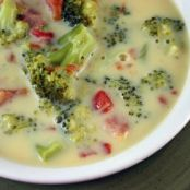 Weight Watchers Broccoli Cheese Soup - 2 Points Per Cup
