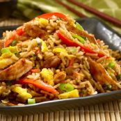 Teriyaki Pork Fried Rice