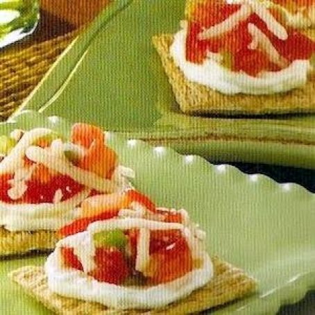 Bruschetta Triscuit