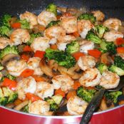 Shrimp & Vegetable Stir Fry