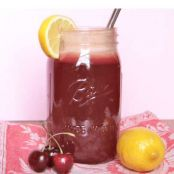 Sweet and Sour Cherry Lemonade
