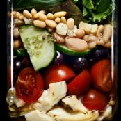 Farmer's Fridge Mediterranean Salad - Mason Jar