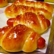 Chinese Bakery Style Hot Dog Buns