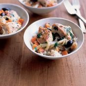 Chicken With Olives and Carrots