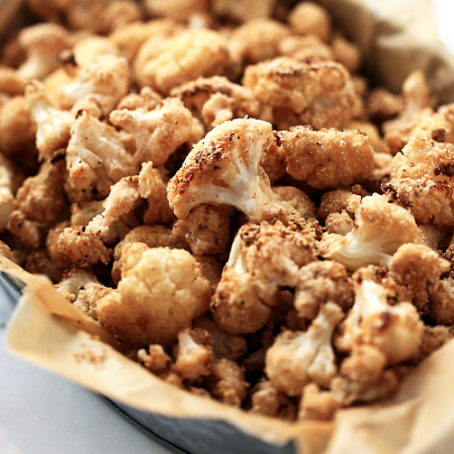 Crispy Sea Salt & Vinegar Cauliflower