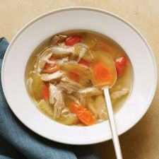 Chicken Noodle Soup with Homemade Stock