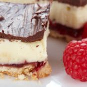 Chocolate Raspberry Layer Bars