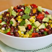 Black Bean Lime Salad