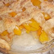 Old Fashioned Homemade Peach Cobbler