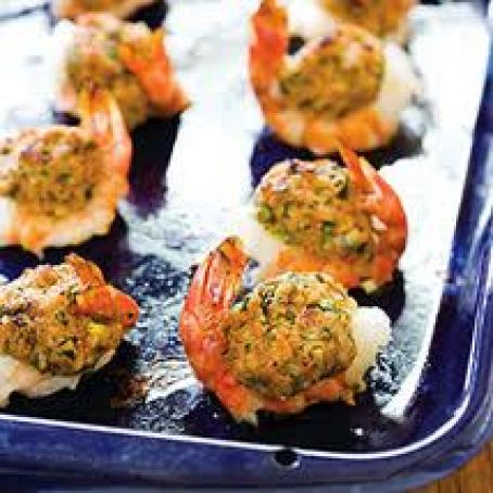 Baked Stuffed Shrimp With Crabmeat Ritz Crackers Recipe 4 5 5