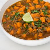 Sweet Potato and Beef Chili