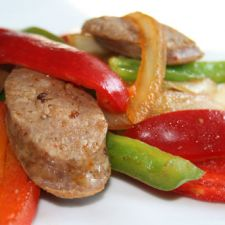 Sausage & Peppers - Patti LaBelle's
