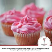 Strawberry Moscato Cupcakes