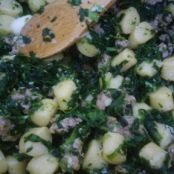 Gnocchi with Sausage & Broccoli Rabe