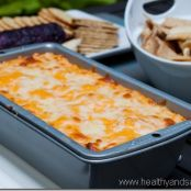 Ultimate Healthified Buffalo Chicken Dip