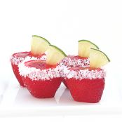 Jello Shots Strawberry Margarita