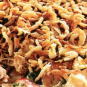 Crispy-Onion Turkey Casserole