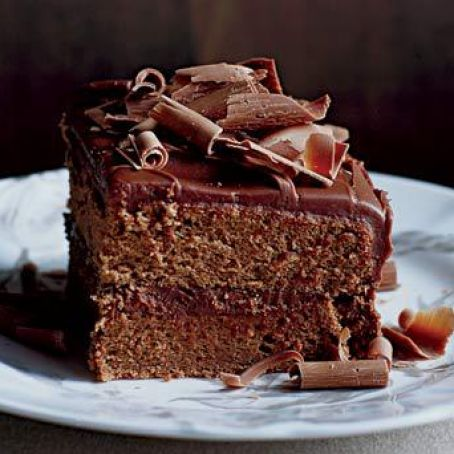 Milk-Chocolate Frosted Layer Cake