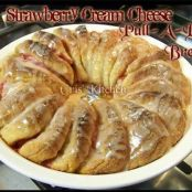 STRAWBERRY CREAM CHEESE PULL-A-PART BREAD