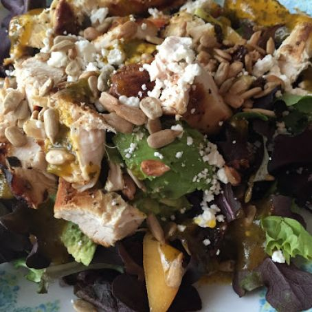 Summer Salad with Lemon Thyme Chicken