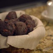 Soft Chocolate Cherry Muffins