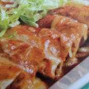 Blade Steak Beef Enchiladas
