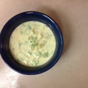 Broccoli Noodle Cheese Soup