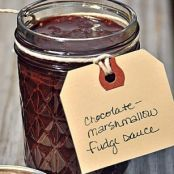 Chocolate-Marshmallow Fudge Sauce