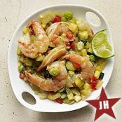 Lime-Laced Chili Verde with Shrimp (WeightWatchers)