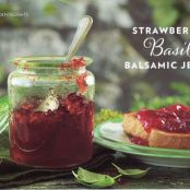 Strawberry Basil Balsamic Jelly